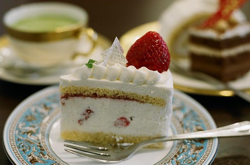 お正月とケーキ