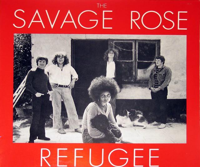 """Savage Rose - Refugee 12"""" vinyl LP"""