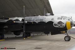 44-61748 G-BHDK - 11225 - IWM Imperial War Museum - Boeing TB-29A Superfortress - Duxford, Cambridgeshire - 150523 - Steven Gray - IMG_1158
