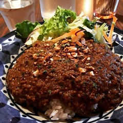 mouth.on.fire.˚‧º·(˚ ˃̣̣̥᷄⌓˂̣̣̥᷅ )‧º·˚super spicy keema #caferakuta #ikeda #osaka #curry #superspicykeema #池田#大阪#喫茶ラクタ#辛口キーマ