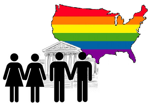 Supreme Court: Love Wins, 5 to 4.