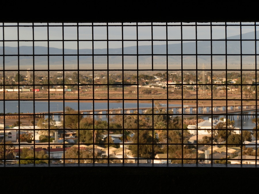 Water Tower Lookout View of Spencer Gulf Bridge