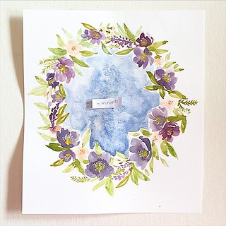 Just in case your video won't load. Here it is again, the winner, @_miranti !!! #instaart #invitation #illustagram #illustrated #inspiration #instaartist #illustration #indogiveaway #inspirationstation #paper #paint #painting #worldwide #watercolor #madei | by babalisme