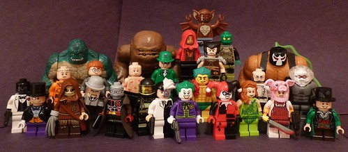 Lego Batman Rouges Gallery Updated One Of My Favorite