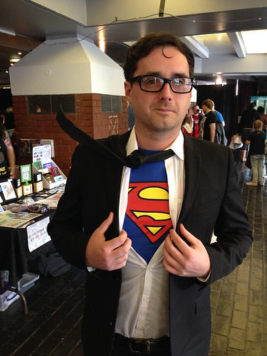Preston Comic-Con 2015 - Clark Kent / Superman