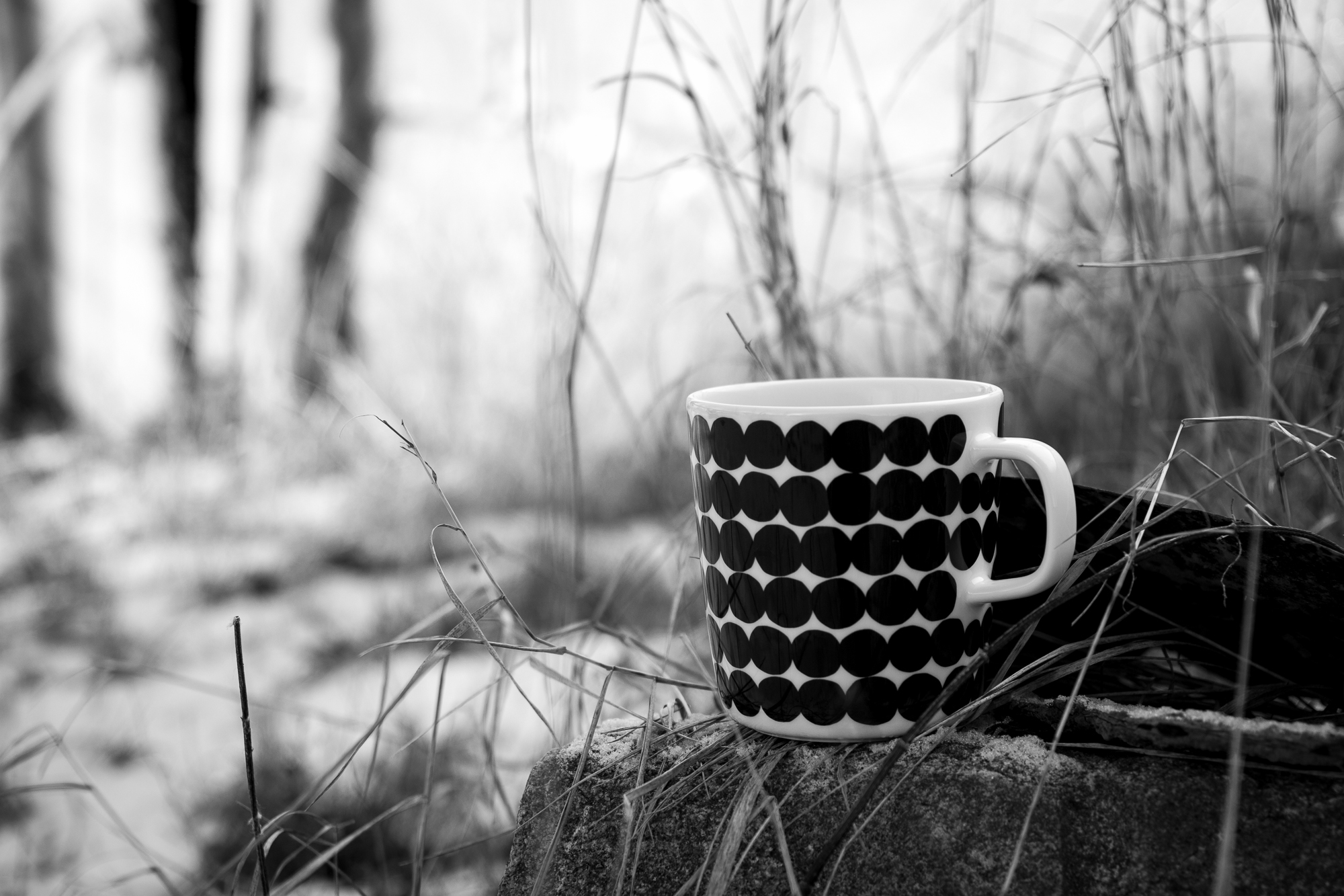 Kahvihetki auringossa / Coffee time under the sun
