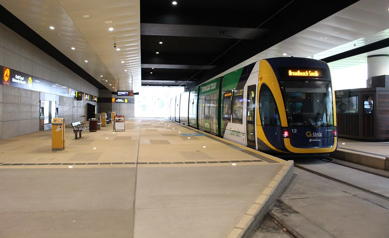 Gold Coast Light Rail: Hospital terminus