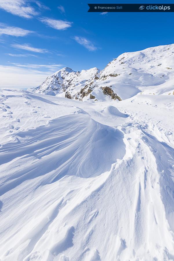 Disegni del vento (Monte Camino, Alpi Biellesi, Piemonte)