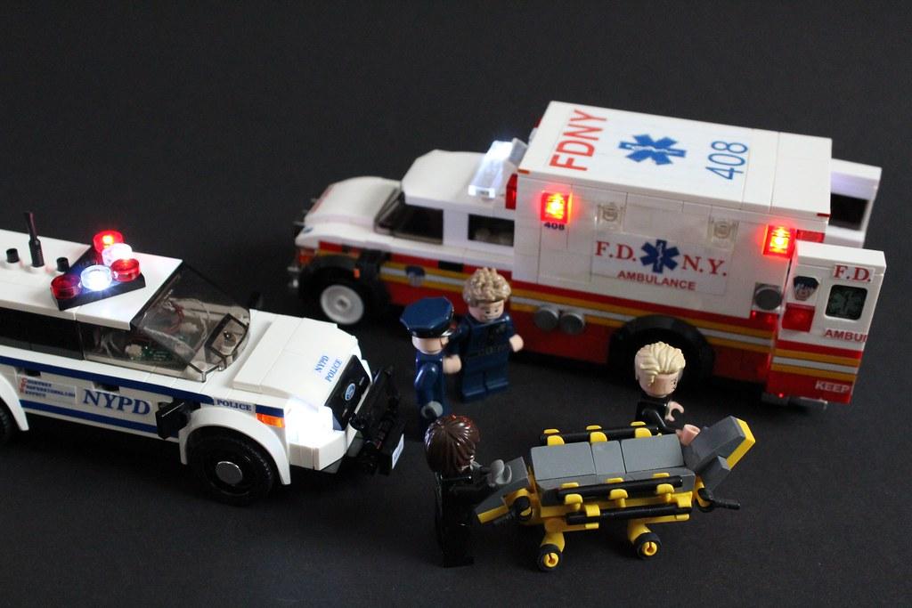 Lego Police Car Ford