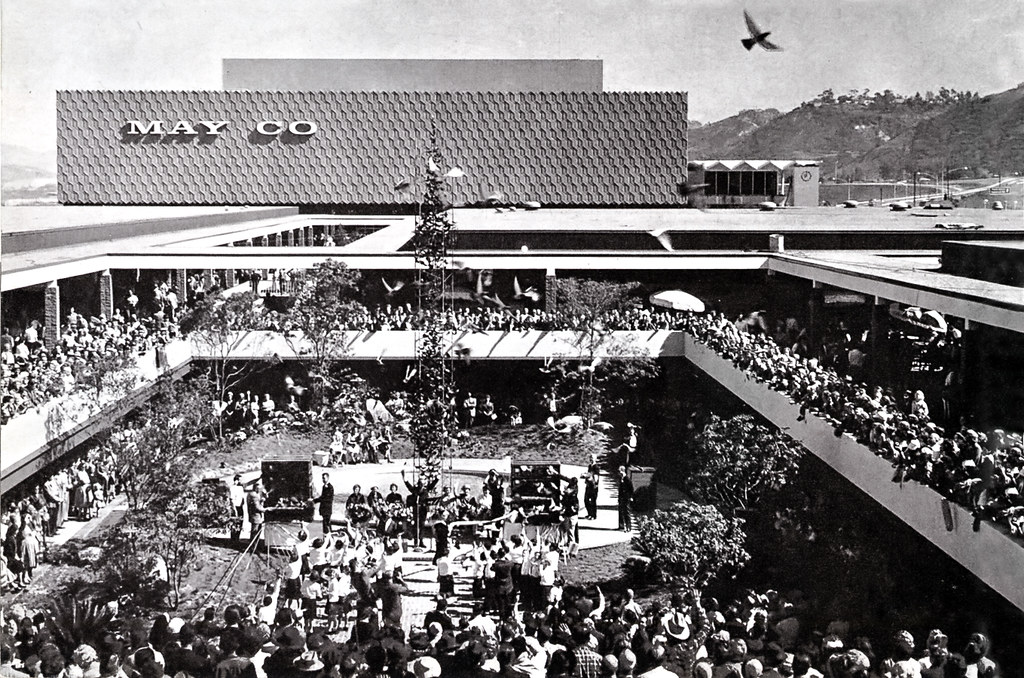 archival mission valley center grand opening 1961