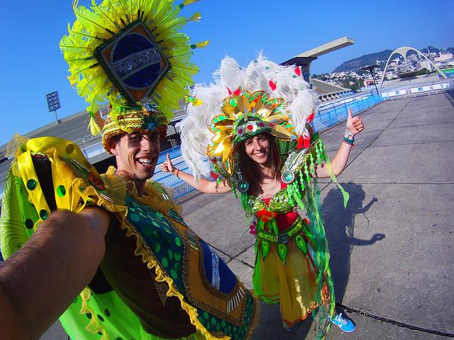 Viajando con seguro de médico en brasil en el Carnaval de Rio de Janeiro