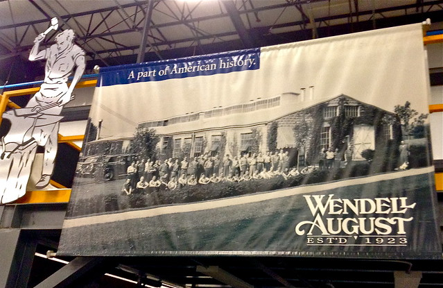 Wendell August forge tours