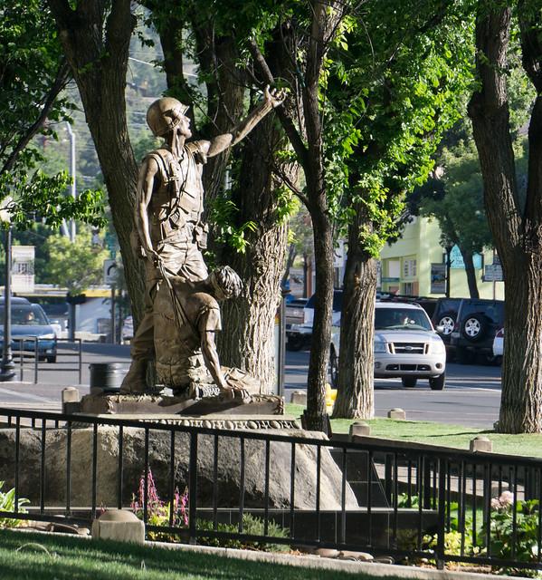 Prescott Vietnam Veterans Statue