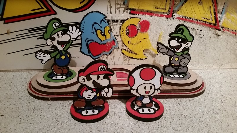 Custom Paper Mario Amiibo by SuperAmiigos
