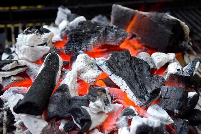 Barbecue Coals | www.rachelphipps.com @rachelphipps