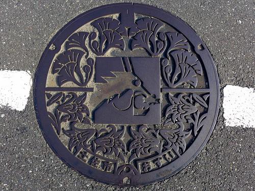 Tosa Kochi, manhole cover (高知県土佐市のマンホール)