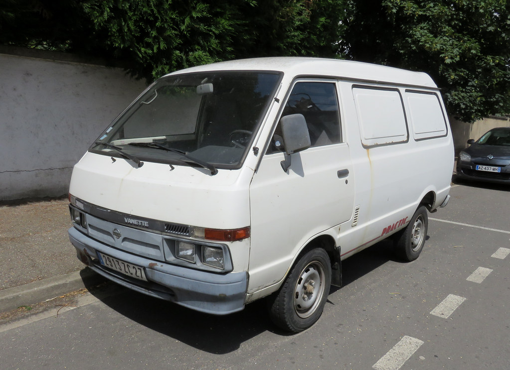 nissan vanette practic c220 probably an early 90s model flickr
