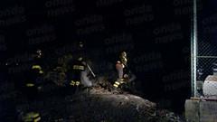 incendio spazzatura sant'arsenio 02