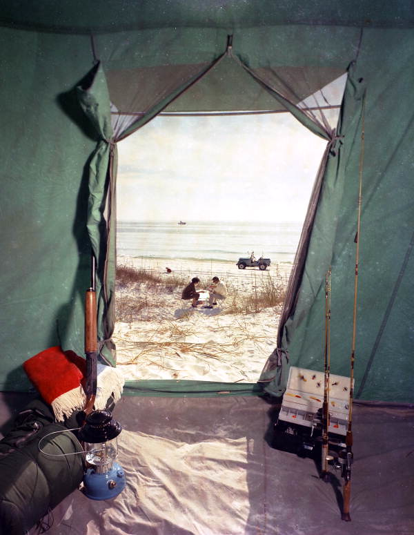 ... C&ing gear inside a tent in Florida | by State Library and Archives of Florida & Camping gear inside a tent in Florida | Persistent URL: floru2026 | Flickr