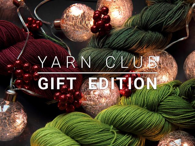 Yarn Club Christmas Gift Edition – 3 months starting January 2018