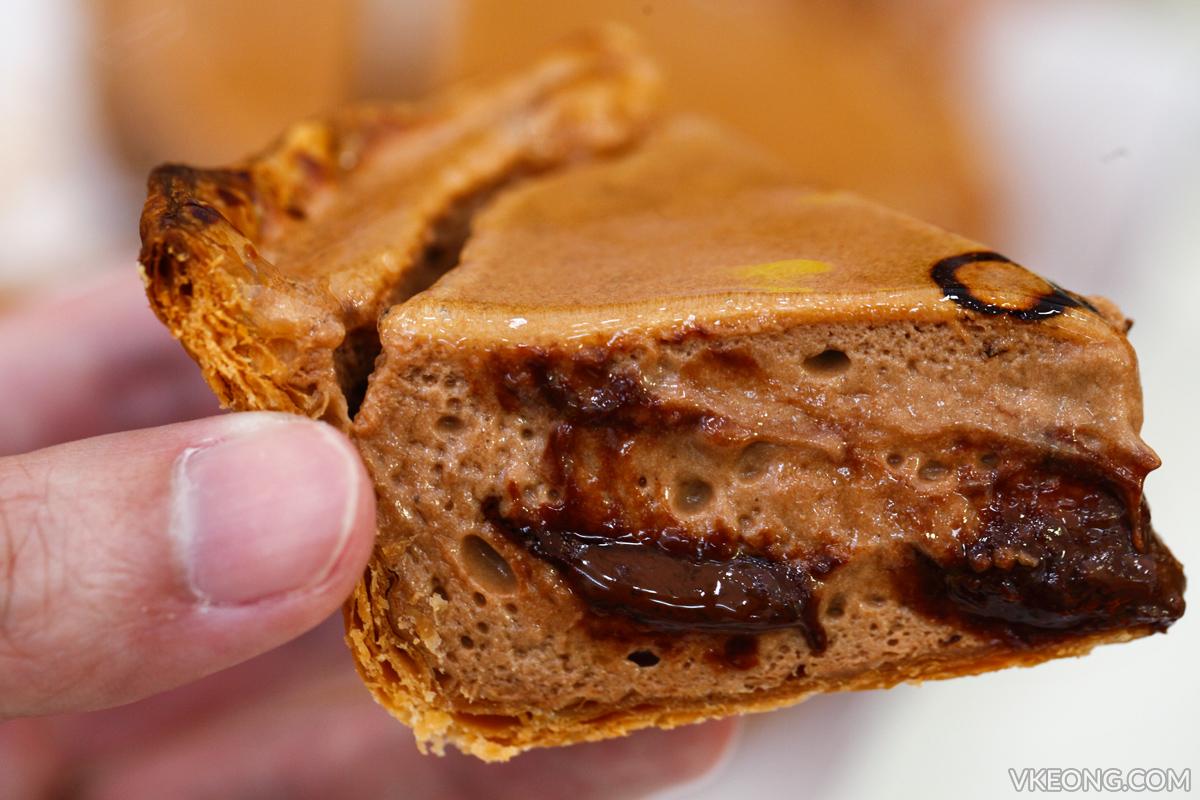 Pablo Baked Chocolate Cheese Tart Slice