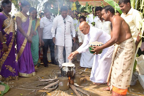 Governor participates in Vaddakachchi Pongal Festival