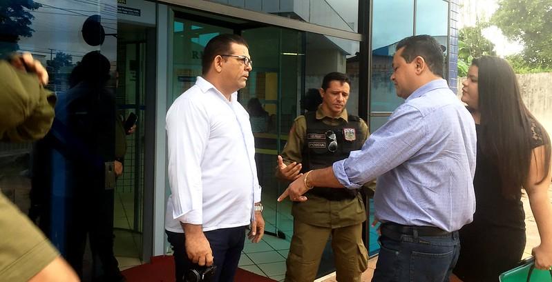 Secretário de Governo faz ameaças e tenta intimidar blogueiro no fórum, Erasmo Maia, intimidação