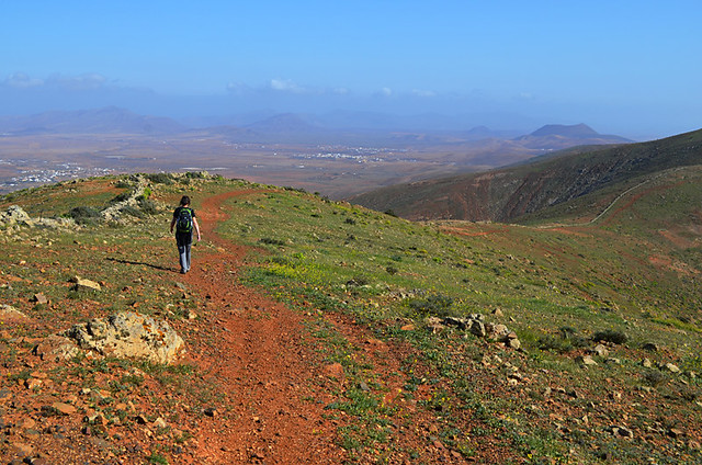 Walking from Betancuria, Fuerteventura