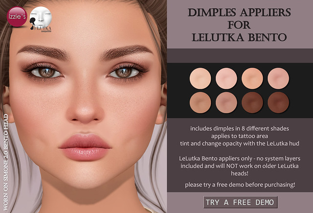 Dimples Appliers (LeLutka Bento) for FLF