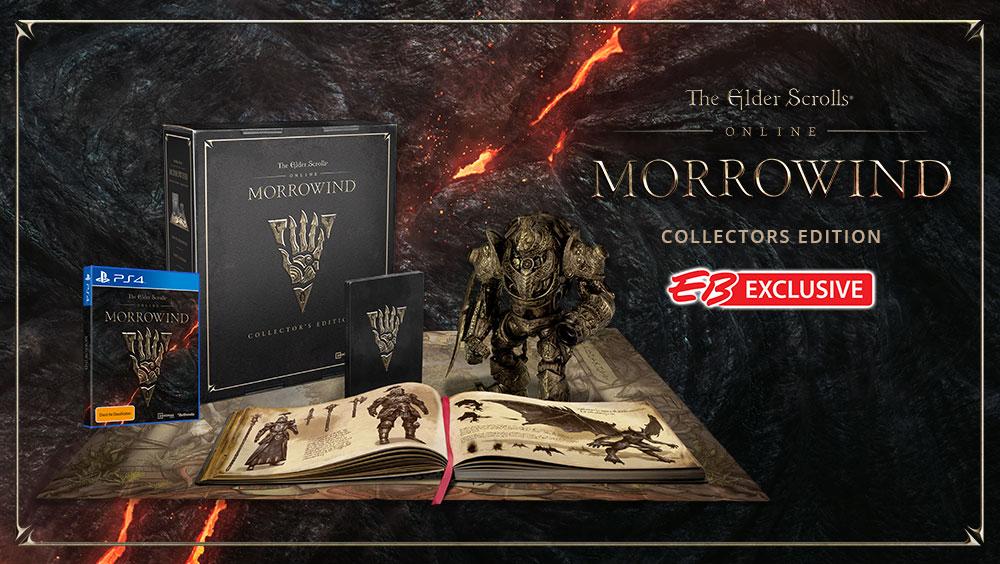 The Elder Scrolls Online Morrowind Collector's Edition EB Games Australia