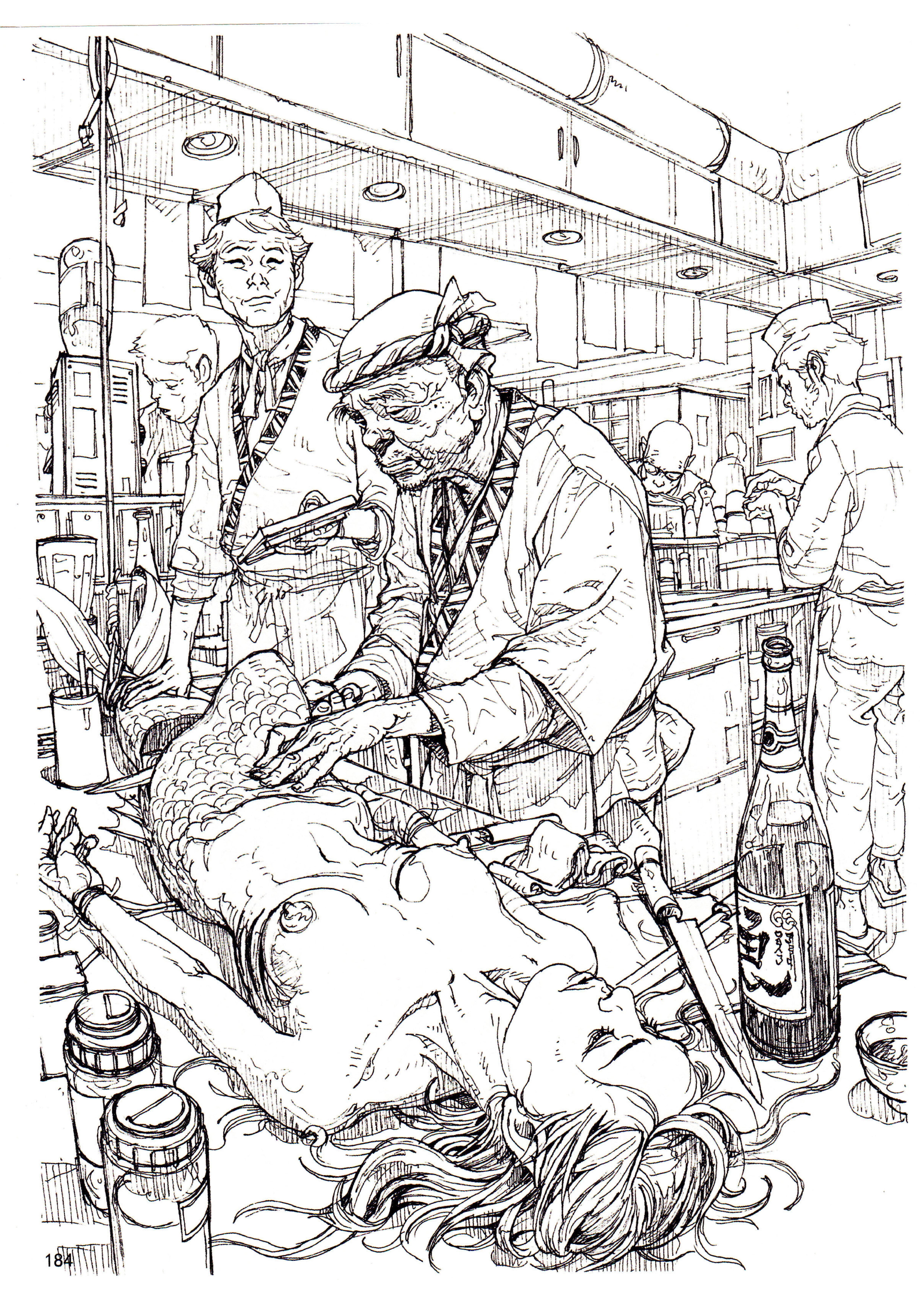 Kim Jung Gi - Sketchbook 2011