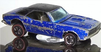 Restoration of a Classic Hot Wheels 1968 Custom Camaro Redline