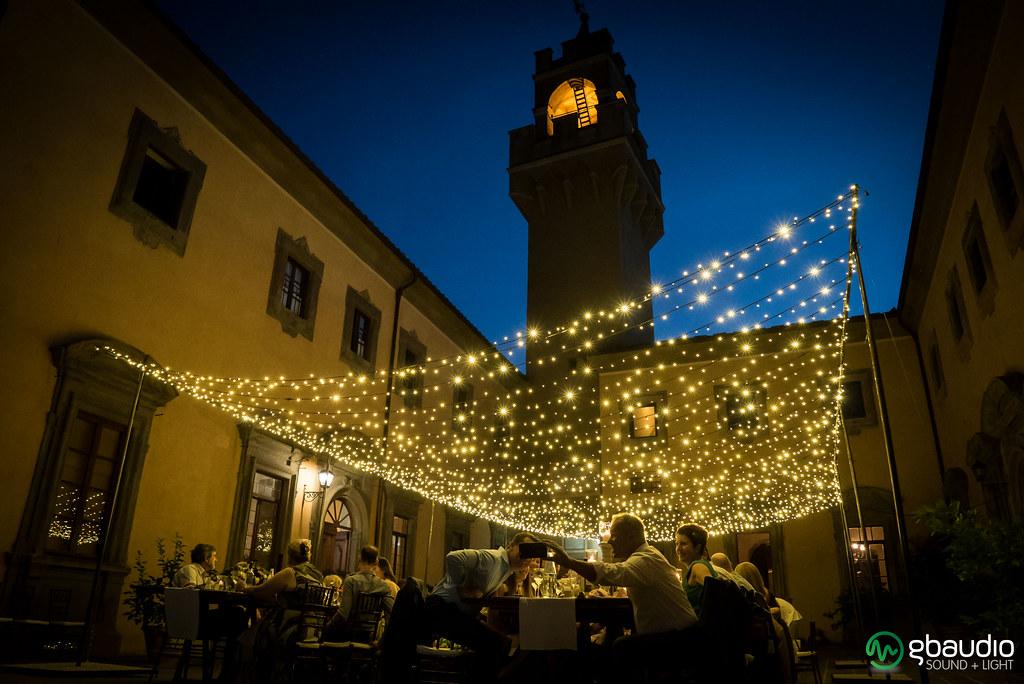 Wedding Reception At Castello Di Montegufoni Sky Of Fairy Flickr