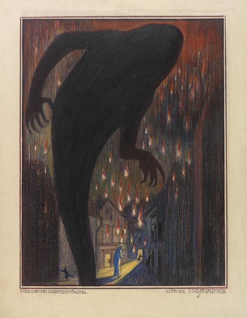 Ludwig Hesshaimer - Madhouse, 1925-30