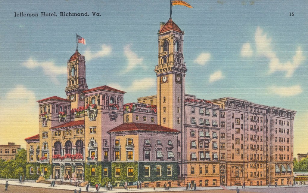 Jefferson Hotel - Richmond, Virginia