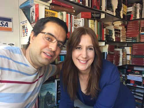 Nacho y Dolores Redondo