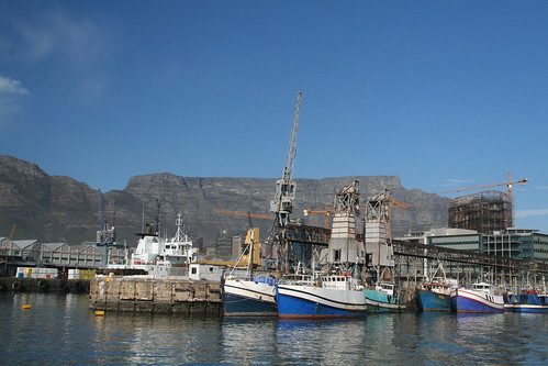 Table Mountain as seen from the water, V&A Waterfront