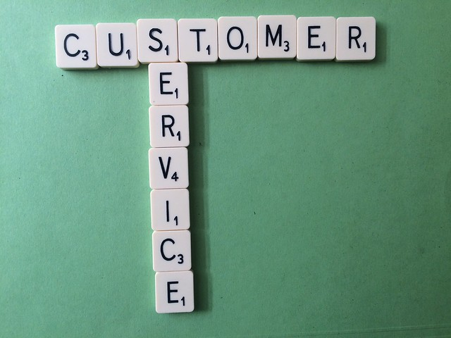 Customer Service Scrabble