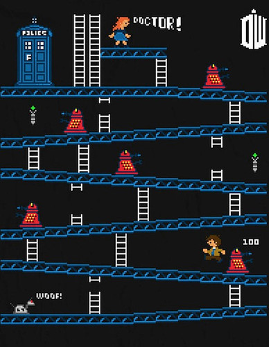 Donkey Kong mash-ups by BazNet - Doctor Who