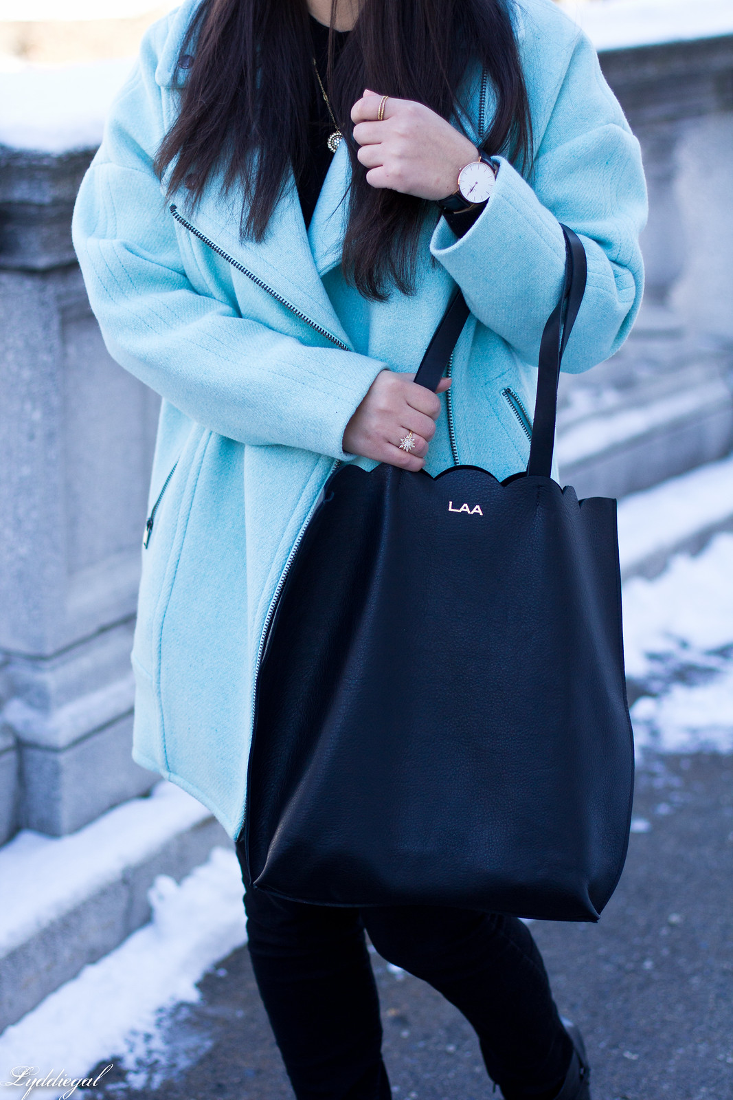 mint cocoon coat, black sweater, scalloped tilly tote-5.jpg