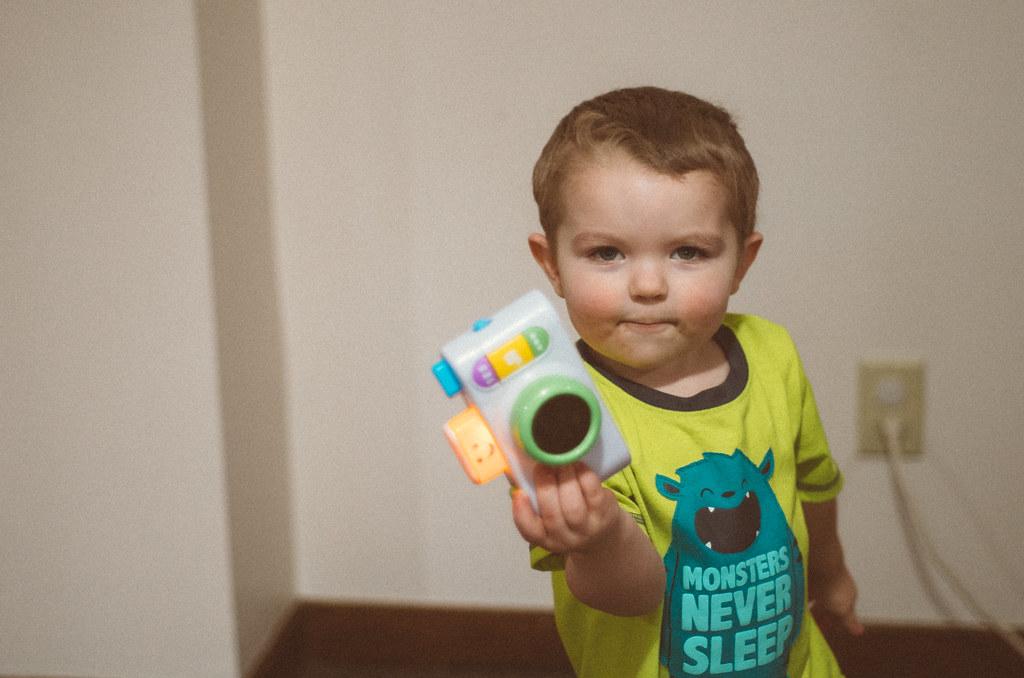 Ezra and his camera
