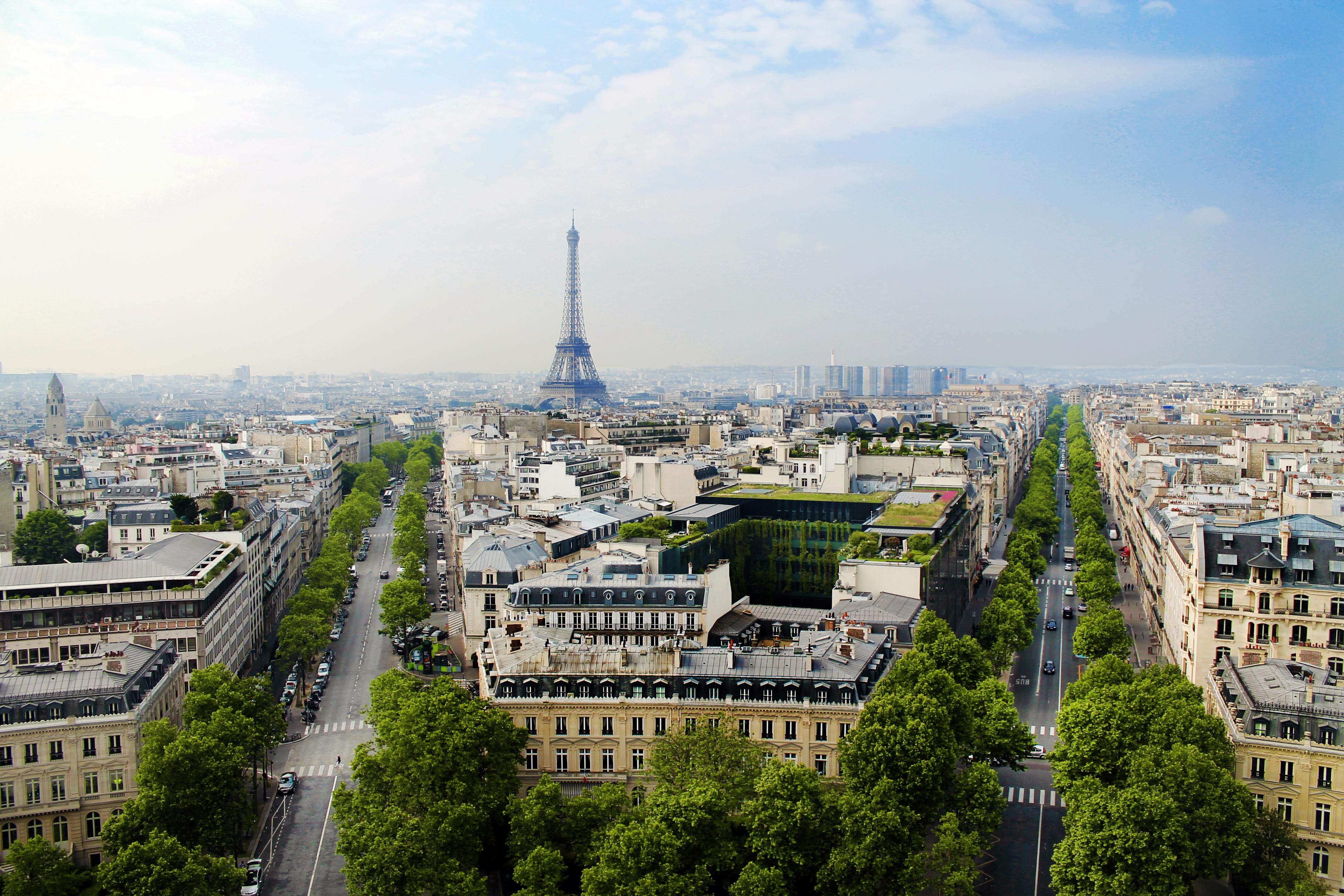 As 5 melhores vistas panorâmicas de Paris