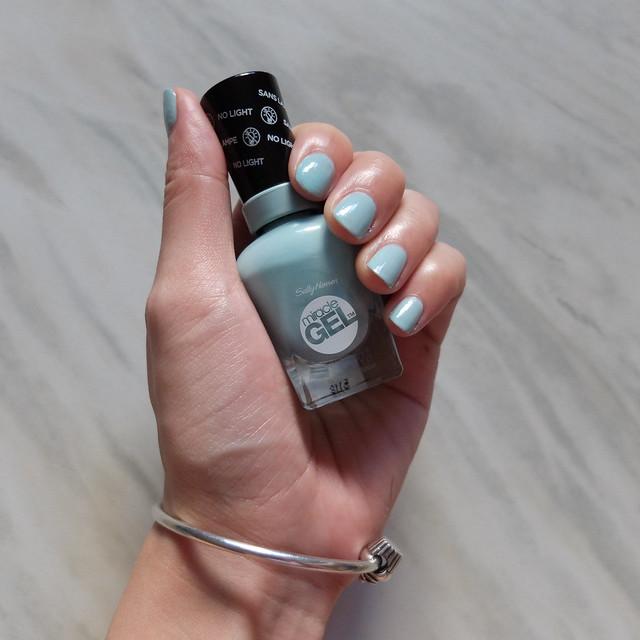 sally hansen miracle gel polish review