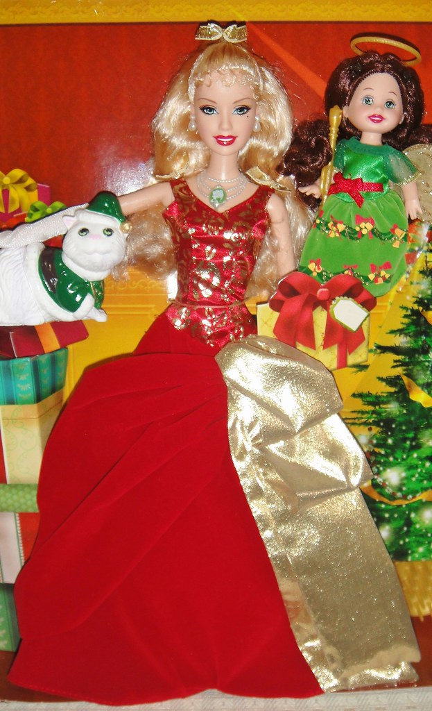 2008 barbie in a christmas carol eden starling the 3 christmas spirits giftset 3 - Barbie Christmas Carol