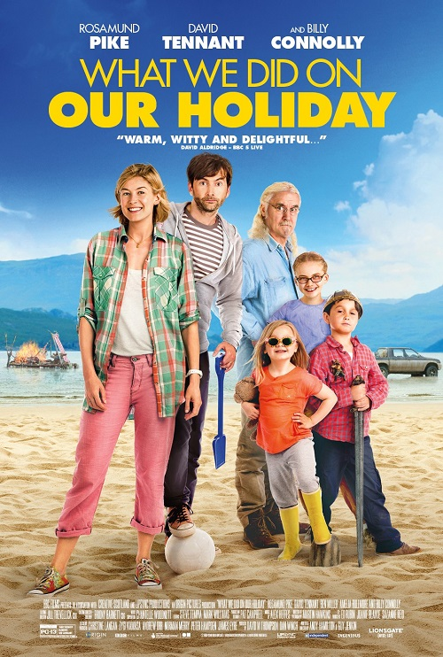 What We Did on Our Holiday - Poster 3