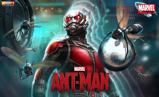 Zen Pinball 2: Marvel's Ant-Man