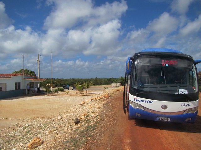 cuba bus ride