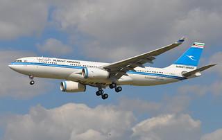 A.330-200 KUWAIT AIRWAYS F-WWKF 1643 TO 9K-APB 17 06 15 TLS