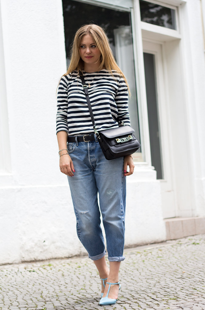 levis 501 vintage and stripes