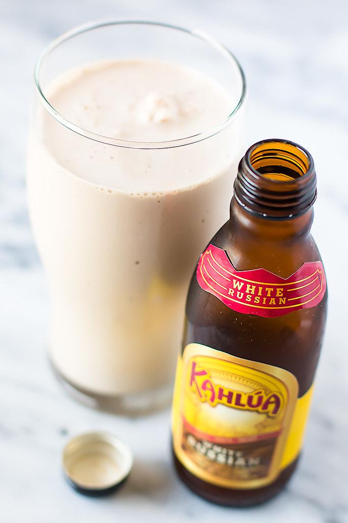 Two Ingredient Boozy Adult Milkshakes